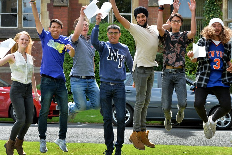 A level results at Wolverhampton Grammar School