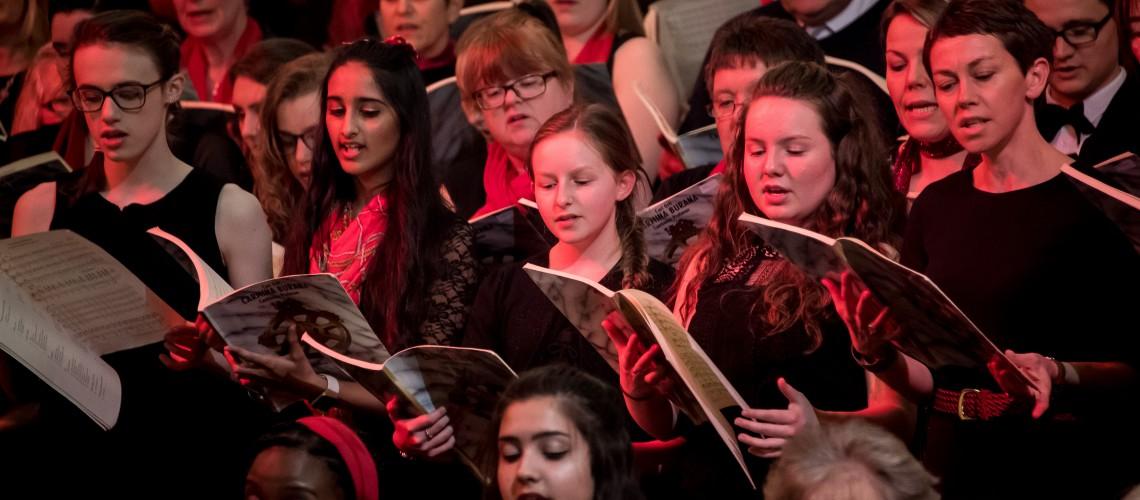 Wolverhampton Grammar School carol singers