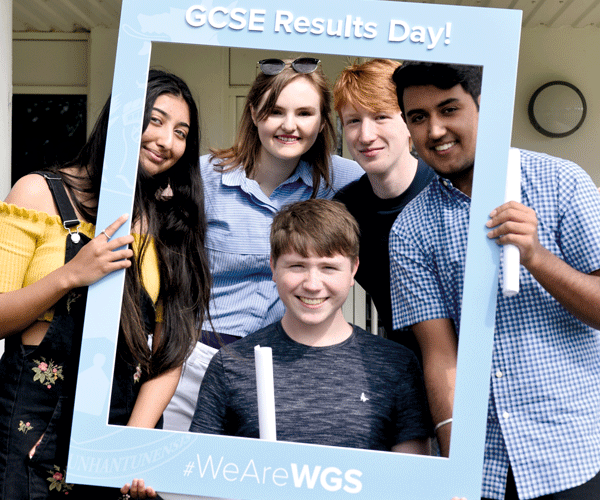 Results day at WGS