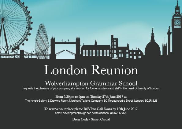 London Reunion - Wolverhampton Grammar School