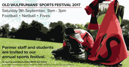 OW's Sports Festival at Wolverhampton Grammar School