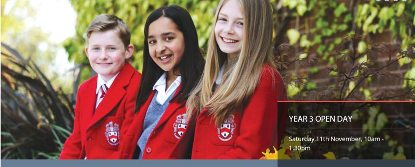 Year 3 open day at Wolverhampton Grammar School