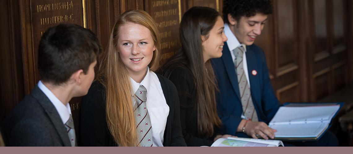 Senior School students - Wolverhampton Grammar School