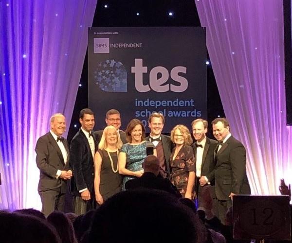 Wolverhampton Grammar School of TES award