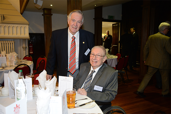 Old Wulfrunians Association Annual Dinner 2016