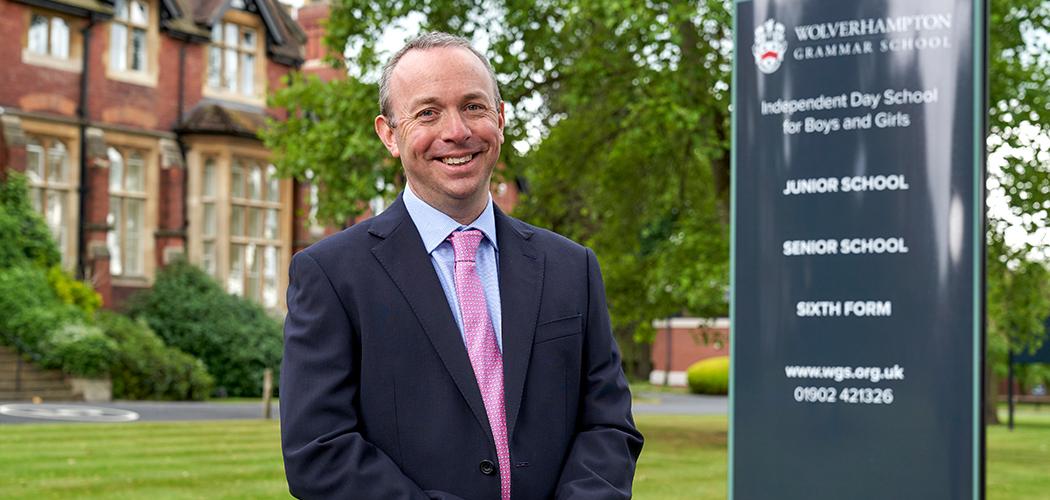 Alex Frazer, Head of Wolverhampton Grammar School